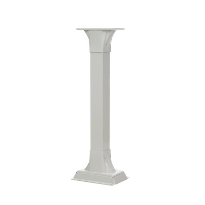 $157.21 • Buy Mailbox Post Stand Decorative Fade Resistant Adjustable Aluminum White