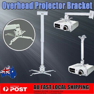 AU17.99 • Buy Projector Ceiling Roof Mount Bracket LCD DLP Stand Adjustable Home Theatre NEW