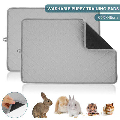 £8.99 • Buy 2Pcs Pet Pee Pads Mats Puppy Training Pads Toilet Wee Cat Dog Supplies Washable