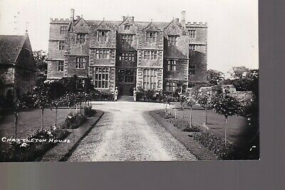 £4.99 • Buy Chastleton House - Chipping Norton Old Unposted Real Photo Postcard F. Packer