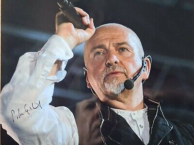 £47 • Buy *SALE*50%OFF-Peter Gabriel Hand Signed 10x8 Photo With Lifetime C.O.A. (Genesis)