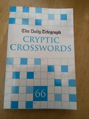 £2.60 • Buy Daily Telegraph Cryptic Crosswords Book Number 66