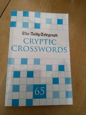 £2.60 • Buy Daily Telegraph Cryptic Crosswords Book Number 65