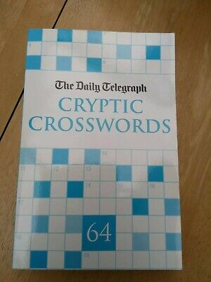 £2.60 • Buy Daily Telegraph Cryptic Crosswords Book Number 64