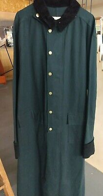 $70 • Buy Beautiful Old West Style Duster Dark Green  Size Large 48 Scully With Tags