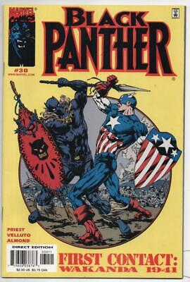 £9.41 • Buy BLACK PANTHER #30, VF/NM, Captain America,  2001, More In Store