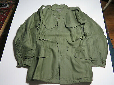 $9.99 • Buy VTG 50s US Army Military M-1951 M51 Cold Weather Field Coat Jacket LOT Z-15