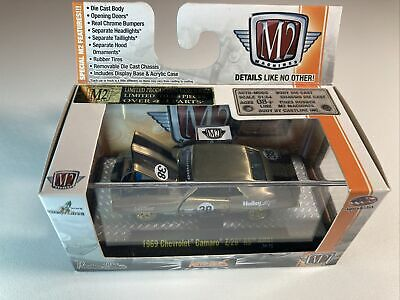 $229.99 • Buy M2 MACHINES 1:64 Auto Mods 1969 Chevrolet Camaro Z28 RS Holley Raw Chase XRare