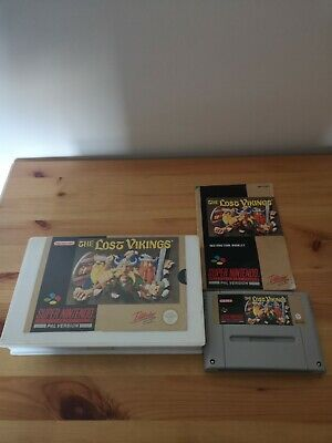 £0.99 • Buy SNES - The Lost Vikings - Boxed With Manual