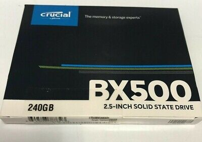 £28.99 • Buy Crucial BX500 2.5  240GB SATA III Solid State Drive