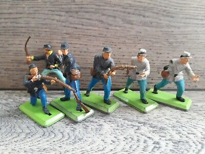 £9 • Buy Britains Toy Soldiers. American Civil War Confederate And Union