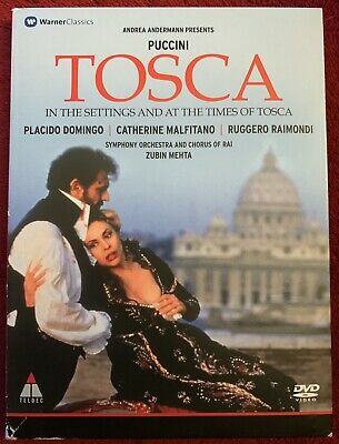 £8.47 • Buy Puccini TOSCA In The Settings And At The Times Of Tosca DVD Placido Domingo