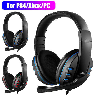 AU20.99 • Buy 3.5mm Gaming Headset MIC LED Headphones Surround For PC Laptop PS4 Xbox One AU