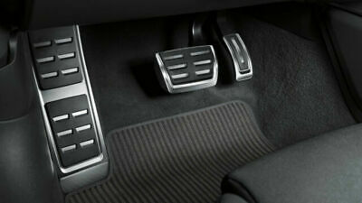 $ CDN172.35 • Buy New Genuine Audi A4 A5 B9 Automatic Stainless Steel Sports Pedal Covers Set