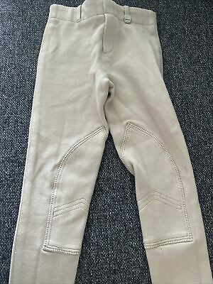 £2.99 • Buy Kids Jodphurs Size 20 Age 5/6 Perfect Condition Worn Once Beige