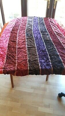 £75 • Buy 10 Metres Andrew Martin Curtain Fabric Remnant Multicoloured Velvet.with Beads