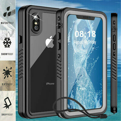 AU23.54 • Buy Life Waterproof Shock Dust Proof Case Cover IPhone 13 12 11 Pro Max XS XR 8 7 6
