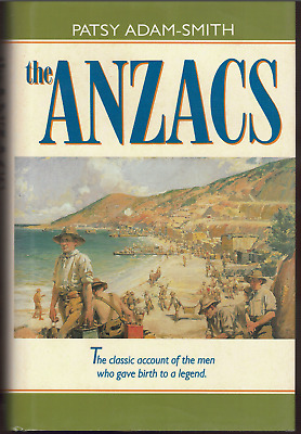 AU22.95 • Buy The Anzacs ; By Patsy Adam-Smith - Hardcover Book