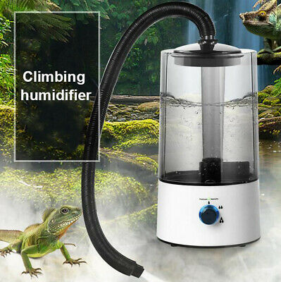 £41.68 • Buy Large Auto Reservoir Reptile Air Humidifier Mister Fog Machine With Hose 4L