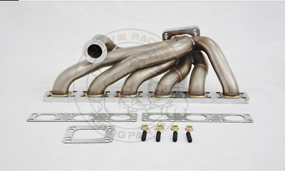 $489 • Buy 3mm T3 SS321 42mm OD Top Mount Turbo Manifold For M50 M52 M54 24V S50 S52 E30
