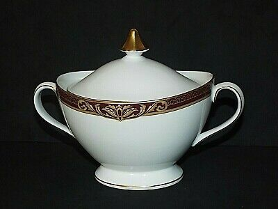 £19.99 • Buy Royal Doulton Tennyson H5249 Two Handled Covered Sugar Bowl VGC First Quality