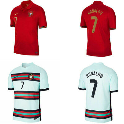 £19.99 • Buy Adult New 2020/21 Fan Jerseys Portugal Home And Away Football Jerseys Size S-2XL