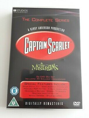 £9.99 • Buy Captain Scarlet And The Mysterons DVD Boxset