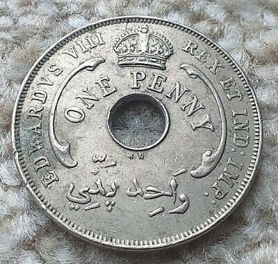 £2.99 • Buy One Penny 1936(kn) British West Africa Coin    COINCORNER