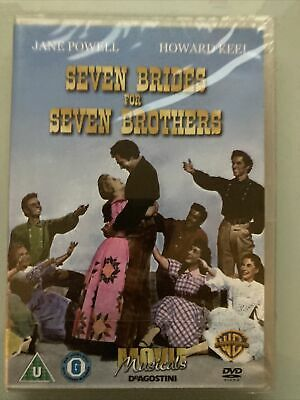 £2.10 • Buy Seven Brides For Seven Brothers DVD Dagostini - New Sealed Free Postage