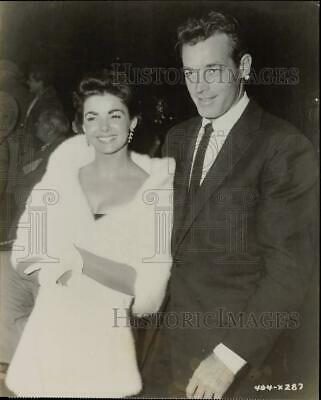 $9.99 • Buy Press Photo Mr. And Mrs. Guy Madison At Premiere Of  Sincerely Yours