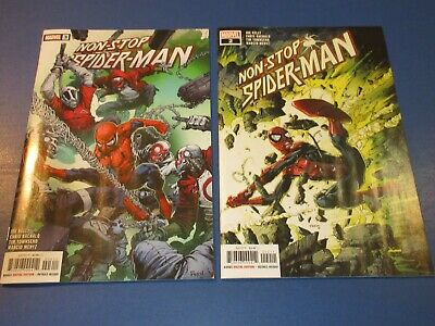 £0.87 • Buy Non-Stop Spider-man #2,3 Lot Of 2 NM Gems Wow