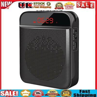 £15.57 • Buy Portable Voice Amplifier Wired MicrophoneMini PA System Speaker (Black)