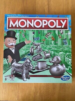 £14.99 • Buy Classic HASBRO MONOPOLY Family Board Game 2-6 Players NEW AND SEALED