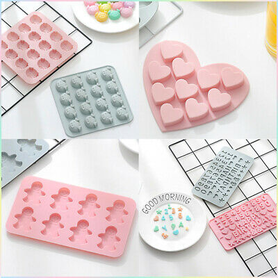 £2.55 • Buy Silicone Baking Mould Cake Jelly Cookies Soap Mold Chocolate Tray Wax Ice Cube