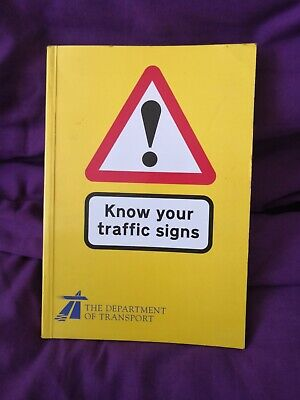 £2.49 • Buy Know Your Traffic Signs 1995