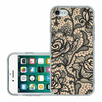 £6.95 • Buy For IPhone 7 8 SE 2020 Silicone Case Cover Gothic Pattern (S5013)