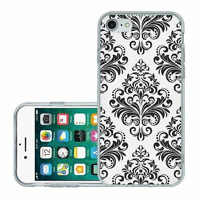 £6.95 • Buy For IPhone 7 8 SE 2020 Silicone Case Cover Gothic Pattern (S5012)
