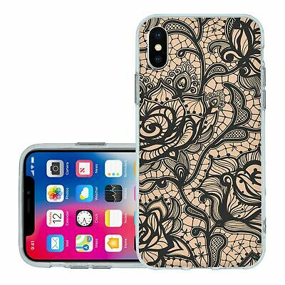 £6.95 • Buy For IPhone X Xs Silicone Case Cover Gothic Pattern (S5013)