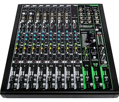 $299.99 • Buy Mackie ProFX12v3 12 Channel Professional Effects Mixer With USB Onyx Mic Preamps