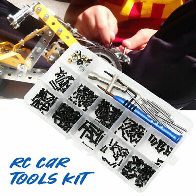 £8.99 • Buy RC Car Tools Kit With Box Repair Supplies Accessories DIY For Wltoys 1:14 144001
