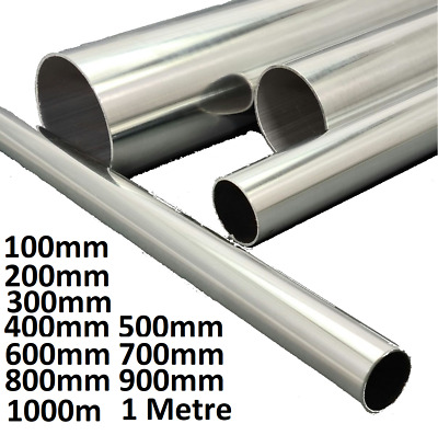 £4 • Buy Aluminum Round Tube Pipe 6mm To 102mm Lengths 100mm Lengths Upto 1M 1 Meter