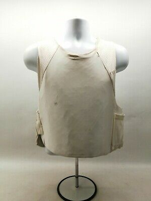 £49.99 • Buy Ex Police Body Armour Mehler White Covert Ballistic Vest Security Obsolete Duty