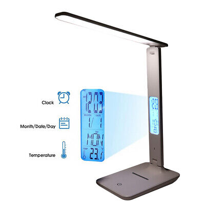 AU38.99 • Buy Touch LED Desk Lamp Bedside Study Reading Table Light USB Ports Dimmable AU