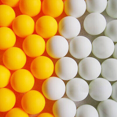 AU18.99 • Buy 100x Ping Pong Balls 40mm Mixed Colours No Logo Table Tennis Beer Wholesale