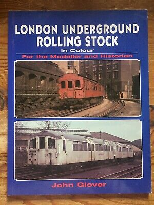 £10 • Buy London Underground Rolling Stock, In Colour By John Glover, Paperback