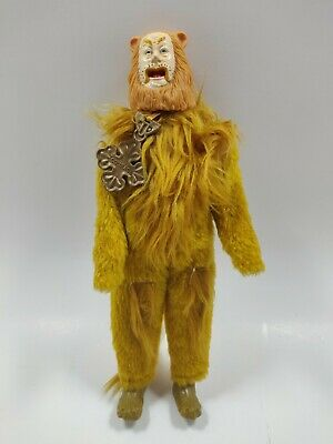 """£3.60 • Buy 12"""" Vintage Wizard Of Oz Cowardly Lion Figurine Vinyl Doll 1981 Toy Time Inc."""