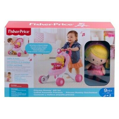 £58.99 • Buy Fisher-Price Princess Stroll-Along Musical Walker And Doll Gift Set, NEW.