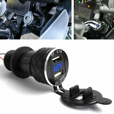 £8.90 • Buy For BMW R1200GS Triumph Tiger 800XC Hella DIN To Dual USB Motorcycle Charger NEW