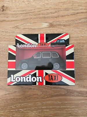 £3.50 • Buy London Taxi Black Cab New In Box Toy, With Pull Back Motor**