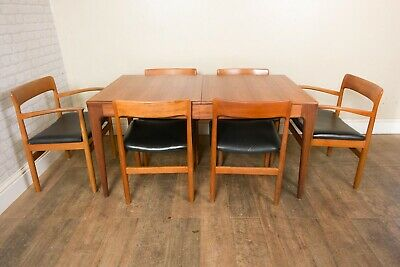£800 • Buy Vintage Retro Teak Mid Century Extending DIning Table By Younger